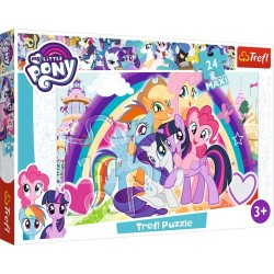 Puzzle Maxi My Little Pony Szczęśliwe kucyki