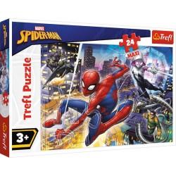 Puzzle Maxi Nieustraszony Spider Man Trefl