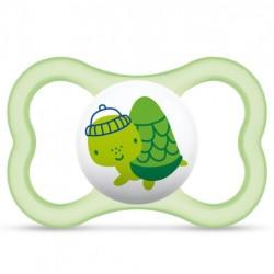 Smoczek uspokajający MAM Air 16+ zielony