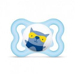 Smoczek uspokajający MAM Air 2-6m niebieski