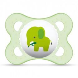 Smoczek MAM Animals 2-6m zielony