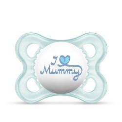 Smoczek MAM Love&Affection 2-6m niebieski Mummy