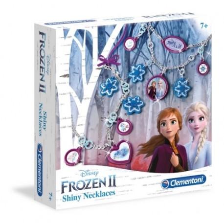Błyszczące naszyjniki Frozen2 Clementoni