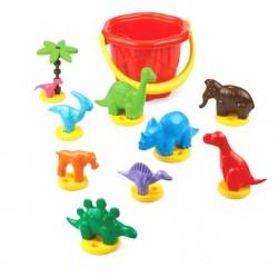 Zabawki do piasku DINOZAURY Marioinex
