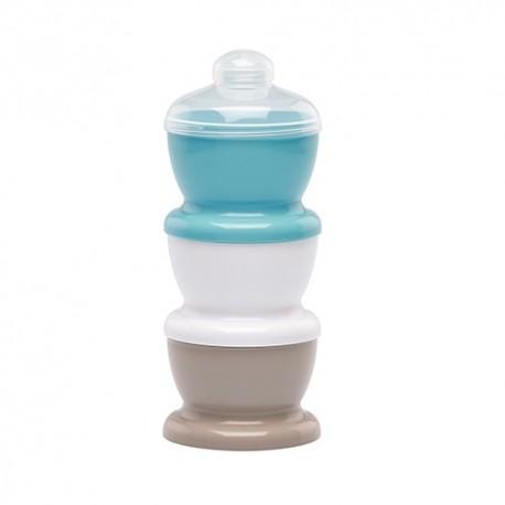 Pojemniki na mleko w proszku niebieskie Thermobaby