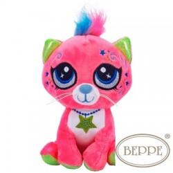 Maskotka Kotek różowy Beppe