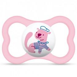 Smoczek uspokajający MAM Air 6m+ różowy