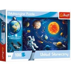 Puzzle edukacyjne Układ Słoneczny 6+ Trefl