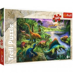 Puzzle Dinozaury 8+ Trefl