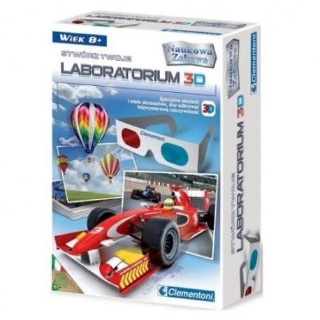 Stwórz Twoje Laboratorium 3D 8+ Clementoni