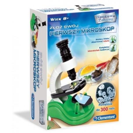 Złóż swój Pierwszy Mikroskop 8+ Clementoni