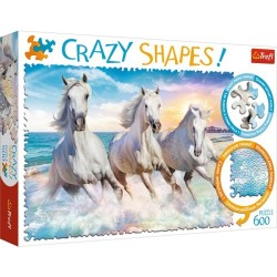 Puzzle Crazy Shapes Galop wśród fal Trefl