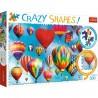 Puzzle Crazy Shapes Kolorowe balony Trefl