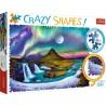 Puzzle Crazy Shapes Zorza nad Islandią Trefl