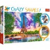 Puzzle Crazy Shapes Niebo nad Paryżem Trefl