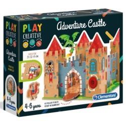 Play Creative Zamek Przygód 4+ Clementoni