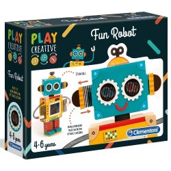 Play Creative Wesoły Robot 4+ Clementoni