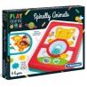 Play Creative Spiralne Zwierzaki 4+ Clementoni