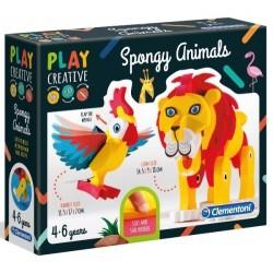 Play Creative Miękkie Zwierzątka 4+ Clementoni