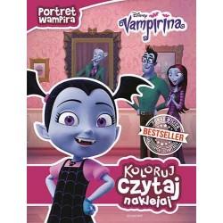 Koloruj czytaj naklejaj Vampirina Egmont