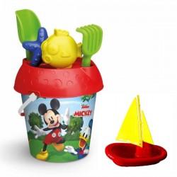 Zestaw do piasku Mickey z łódką Adriatic