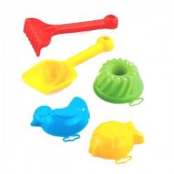 Zabawki do piasku Małe Mini 5szt. Marioinex