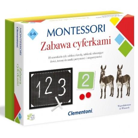 Montessori Zabawa Cyferkami Clementoni