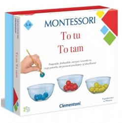 Montessori To tu, to tam Clementoni