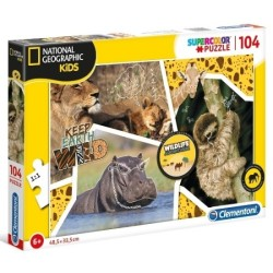 Puzzle National Geographic Wildlife Adventurer 6+