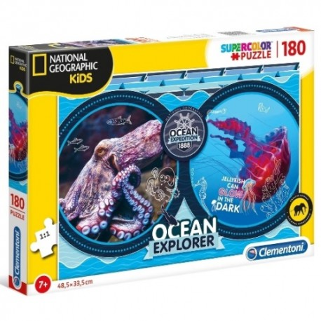 Puzzle National Geographic Ocean Expedition 7+