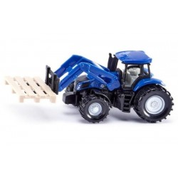Traktor New Holland z chwytakiem do palet SIKU