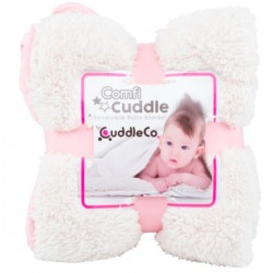 Kocyk niemowlęcy Comfi-Cuddle różowy CuddleCo