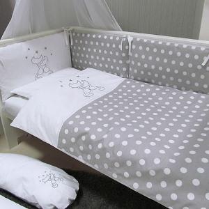 Pościel do łóżeczka z wypełnieniem