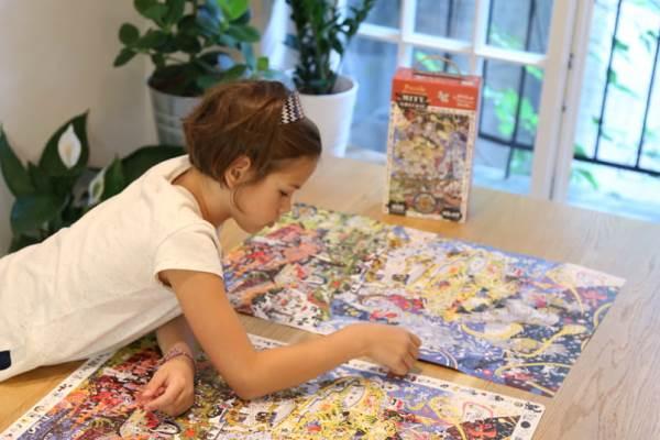 Puzzle dla dzieci w wieku szkolnym